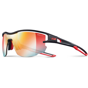 Julbo Aero Zebra Light Red Lunettes de soleil, black/red-multilayer red